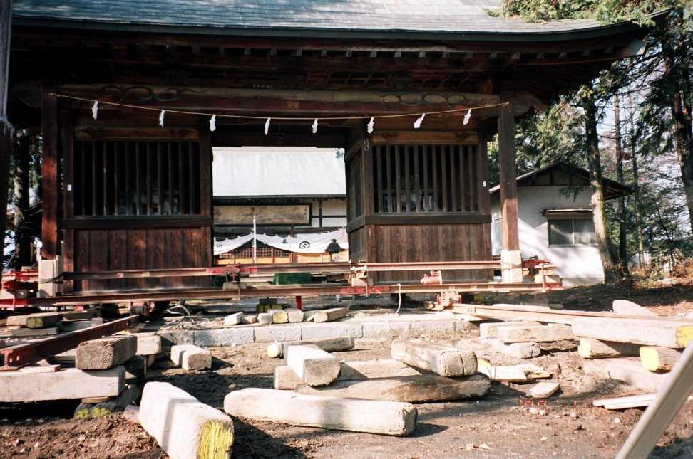 曳家写真神社