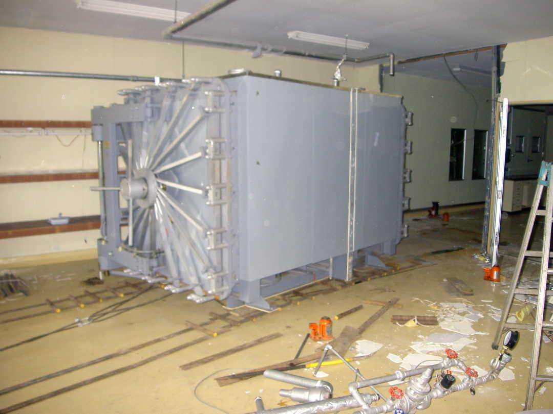 大型冷蔵庫移動写真